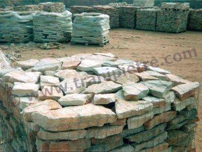 Pietra viva in ceste spess 4 6 pietra di trani la for Aiuole in pietra